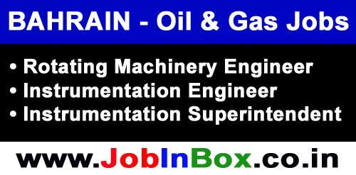 Bahrain Oil and Gas Instrumentation Jobs