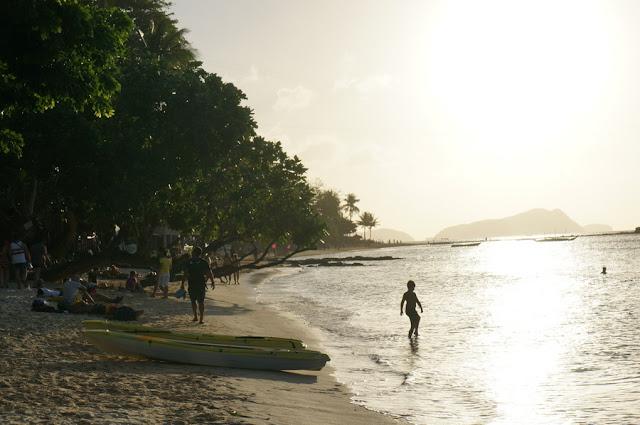 Praia Marimegmeg, também conhecida como 'Las Cabanas'