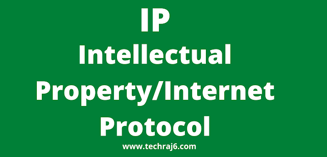 IP full form, what is the full form of IP