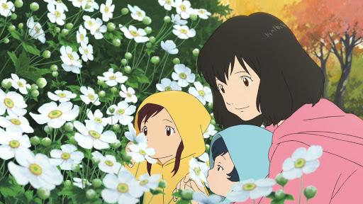 Review Anime Ookami Kodomo no Ame to Yuki