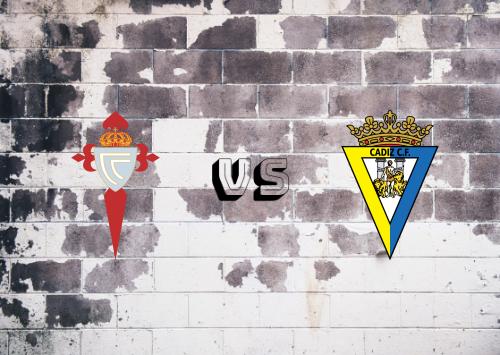 Celta de Vigo vs Cádiz  Resumen