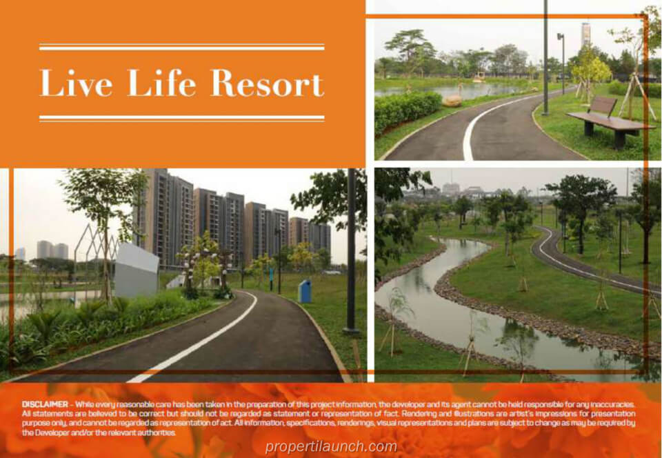 Live Life Resort Navapark BSD