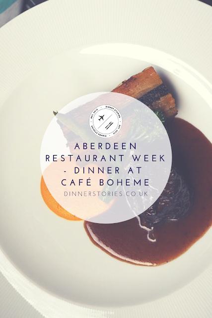 Aberdeen Restaurant Week - Dinner at Cafe Boheme