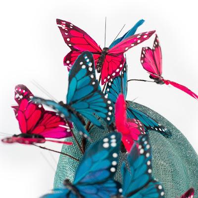 tocado mariposas