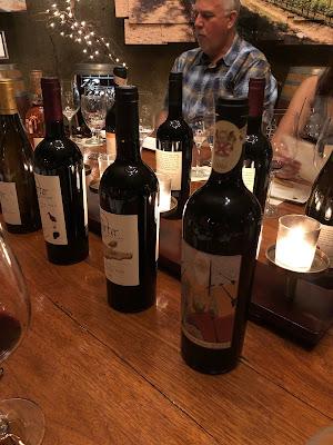 Napa Scott enjoys Porter Family Vineyards