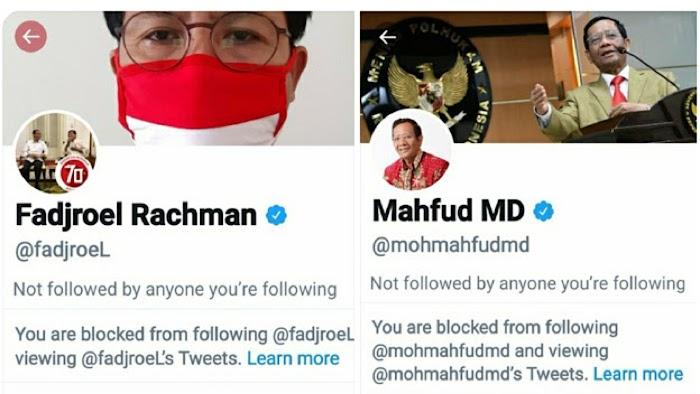 Diblokir Fadjroel dan Mahfud MD, Haikal Hassan: Perasaan Gak Pernah Ribut Sama Mereka