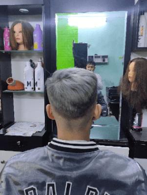 anh duy chủ salon chia sẽ về sản phẩm keo xịt tóc màu familiar
