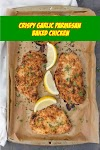 #Crispy #Garlic #Parmesan #Baked #Chicken