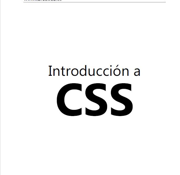 Título: Introducción a CSS.