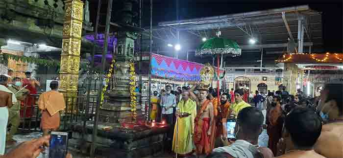 Navratri Celebration: Kolluril Devi Pushpa Rathodsavam with COVID norms