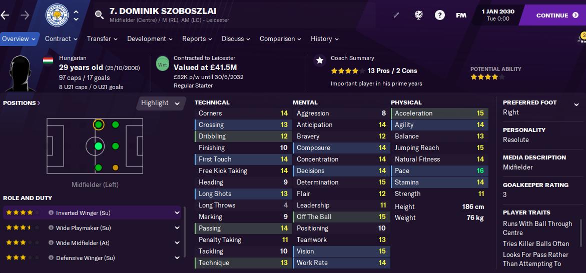 FM21 Dominik Szoboszlai 2030