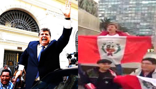 Peruanos protestan en Francia y Uruguay contra asilo político