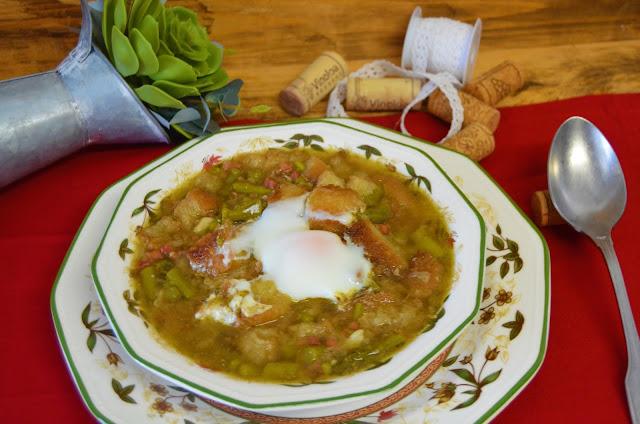 Las delicias de Mayte, sopa de esparragos trigueros, sopa de esparragos, recetas de esparragos verdes, sopa de esparragos verdes, esparragos trigueros, esparragos verdes recetas, sopa de espárragos,