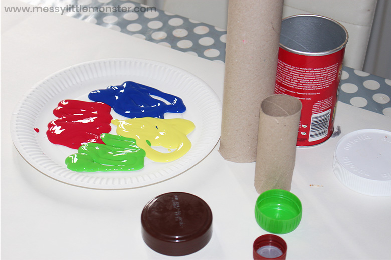 painting circles for kids