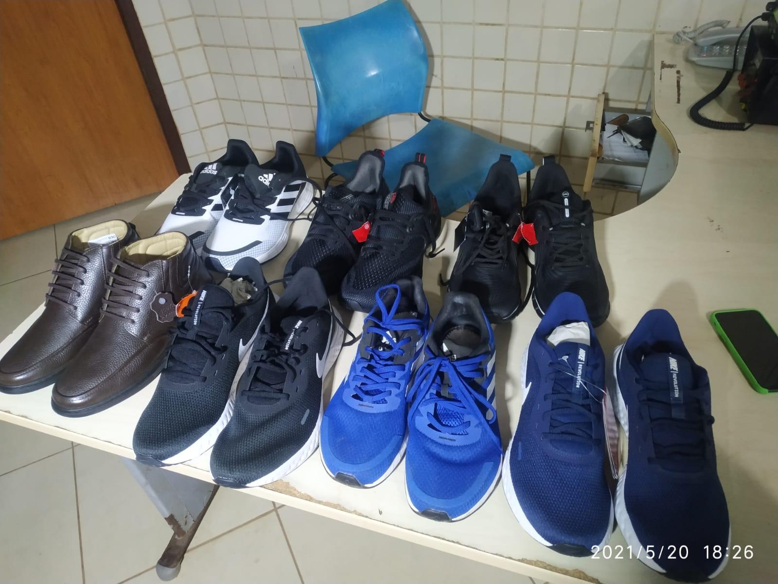 Rapaz é preso após roubar calçados de loja no Partage Shopping