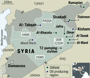 US  Aid for Assad-Controlled Syrian Territories