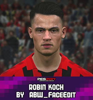 PES 2017 Faces Robin Koch by ABW