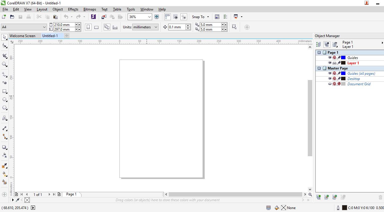 Cara Buat Banner Dengan Corel Draw X7 - kumpulan contoh ...