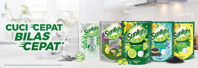 Sunlight untuk Cuci Piring