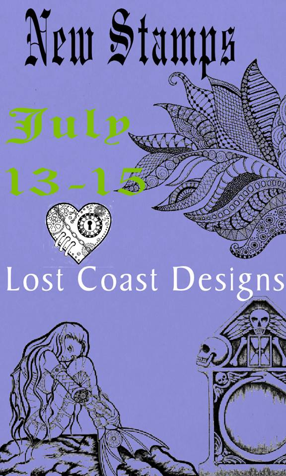 Lost Coast Designs New Stamps Event
