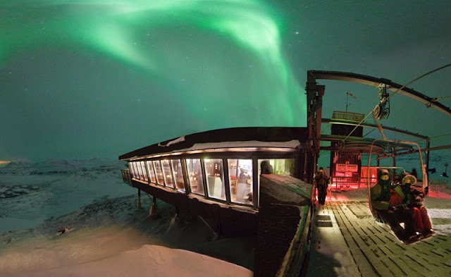 Visiting the Aurora Sky Station in Abisko on a Northern Lights Trip