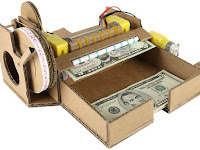 DIY Note Money Counting Machine – Made out of Cardboard!!