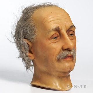 einstein wax head by stubergh