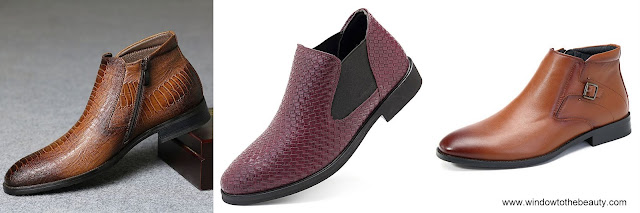 Men Dress Boots