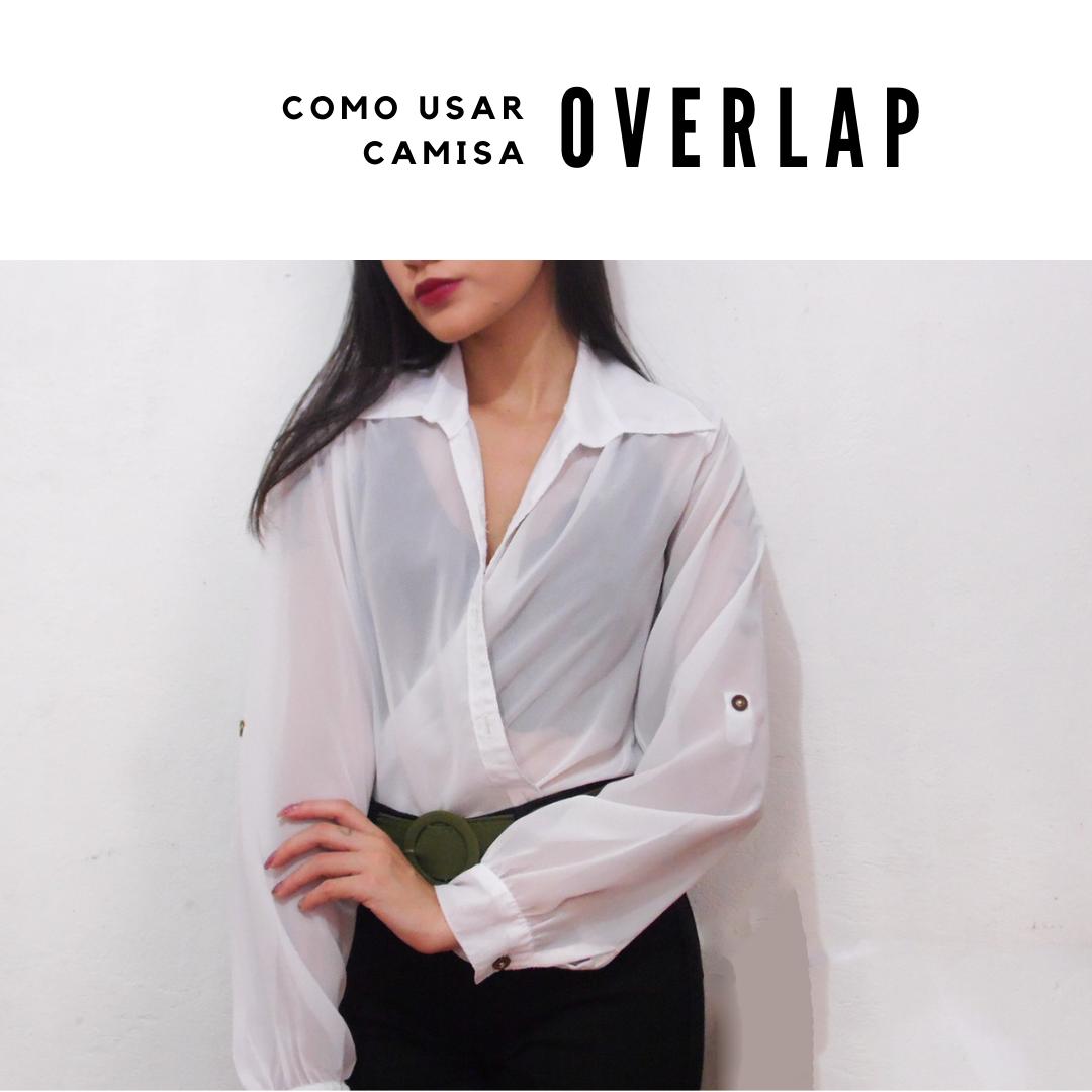 6 formas de usar camisa social: overlap