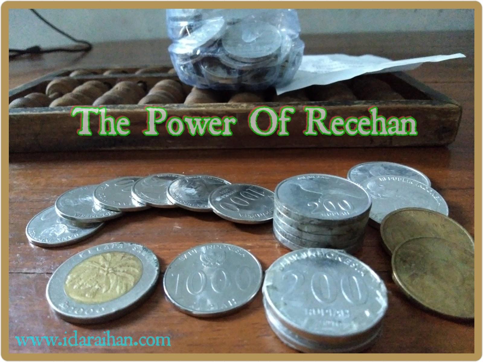 Manfaat Recehan, Coin, koin