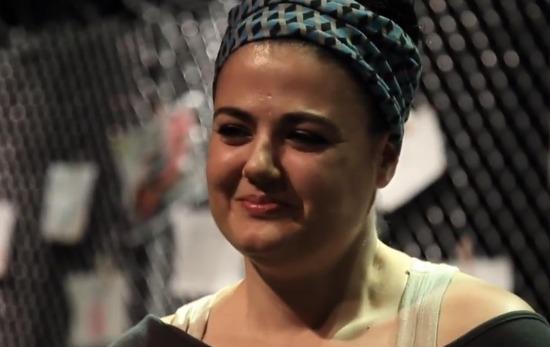 Sadahzinia (Γιολάντα Τσιαμπόκαλου) Ελληνίδα ράπερ