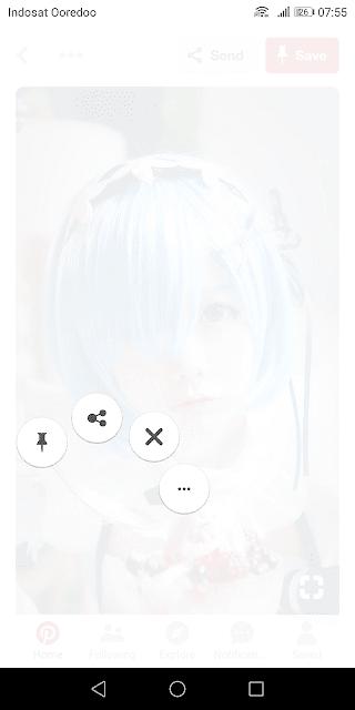 Cara membagikan gambar di Pinterest