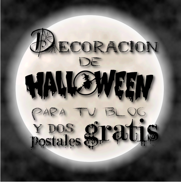 Decoracion de Halloween para tu blog
