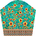 Flower Textile Digital Print Suit Kurti Design - Slive 2690