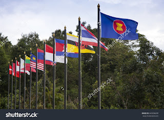 bendera anggota asean