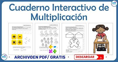Cuaderno Interactivo de Multiplicación