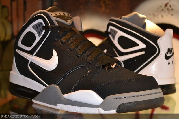 7fa8773c782eab Nike Air Flight Falcon – Black Grey-White