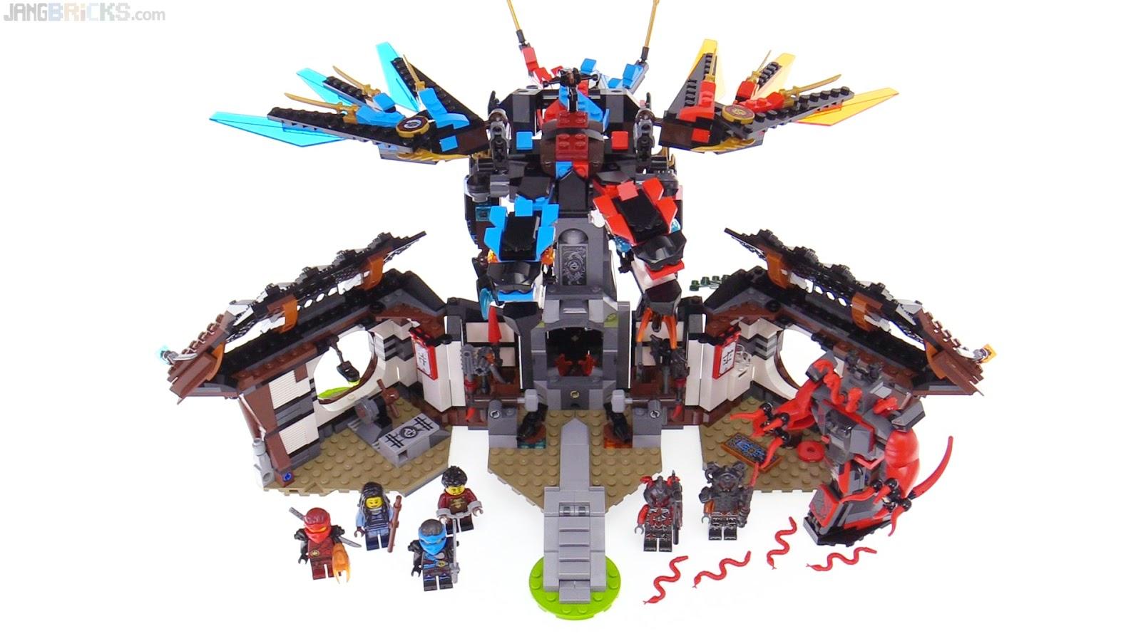 Lego ninjago dragon 39 s forge review 70627 - Dragon ninjago lego ...