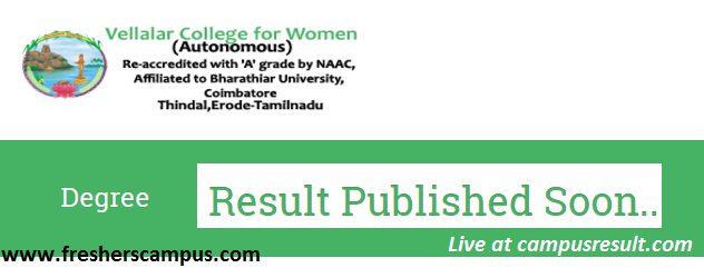 Vellalar college for women Arts results page-vcw-ac-in