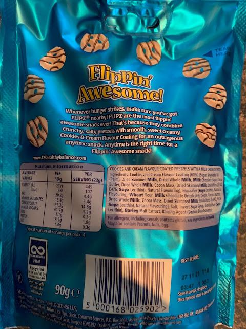 Flipz Cookies & Cream