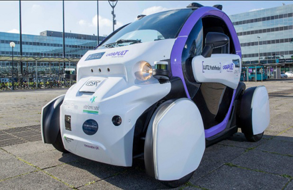 Britain becomes the first country to allow driverless cars
