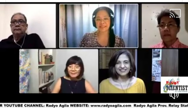 UPCD Admin @ Pinoy Scientist Radyo Agila Program