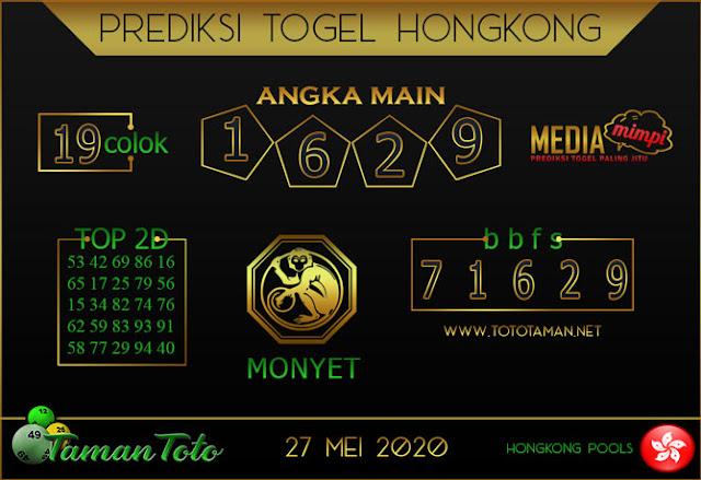 Prediksi Togel HONGKONG TAMAN TOTO 27 MEI 2020