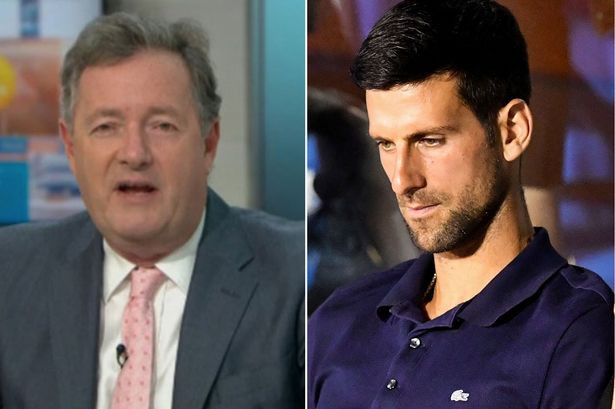 Piers Morgan slams 'utterly ridiculous' Novak Djokovic as he tests positive for coronavirus after hosting tennis tournament