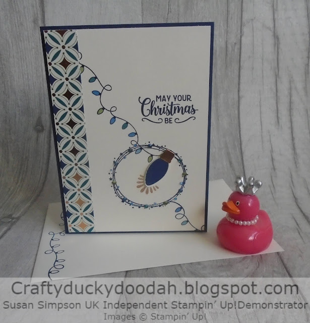 Craftyduckydoodah!, Making Christmas Bright, Ornament Punch, Christmas 2019, Susan Simpson UK Independent Stampin' Up! Demonstrator, Supplies available 24/7 from my online store,