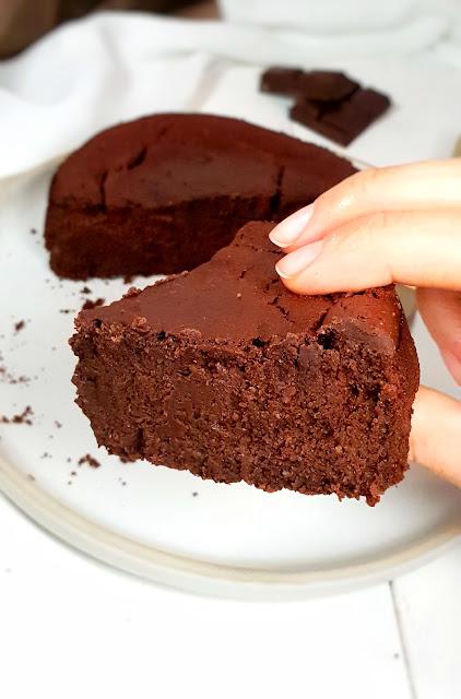 fondant chocolat sans gluten façon baulois, allégé