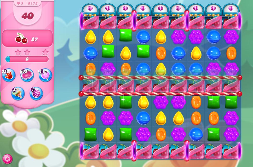 Candy Crush Saga level 9173