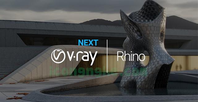 تحميل برنامج V-Ray Next for Rhinoceros 7 كامل مع التفعيل
