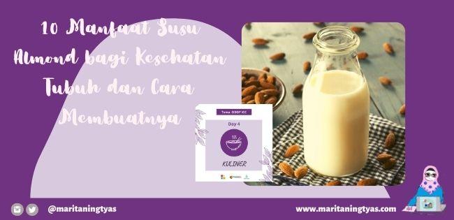 manfaat susu almond bagi kesehatan tubuh