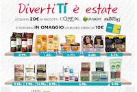 Logo Tigotà : con L'Oreal, Frank Provost e Garnier spendi 20€ e ricevi 1 buono spesa da 10€